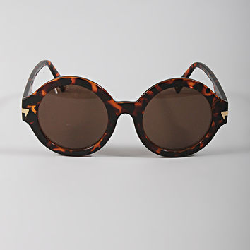 well rounded sunnies - tortoise