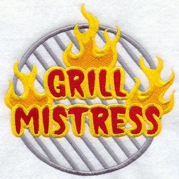 Grill Mistress BBQ Apron Mother's Day Gift, Birthday Gift, Hostess Gift