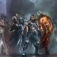 """""""The Planeswalkers Pantheon"""" - Art Print by Brad Rigney"""