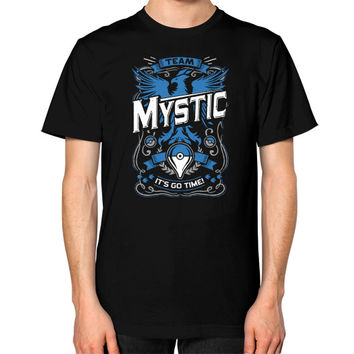 It's Go Time Team Mystic Unisex T-Shirt (on man)