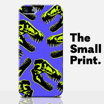 Dinosaur iPhone 5c Case, Jurassic Park iPhone 5c Case, Boys iPhone 5c Case, Skull iPhone 5c Case, Neon Phone Case, Teenager iPhone case