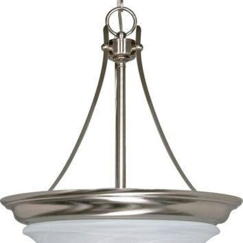 LMFUG7 Hanging Dome Pendant Light Fixture (Close-to-Ceiling Conversion Kit Included)