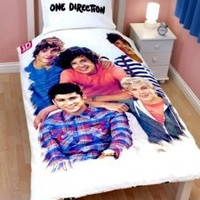 One Direction Crush Duvet Set - Single