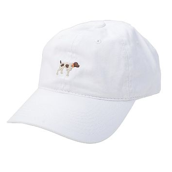 SPC White Twill Hat by Southern Point Co.