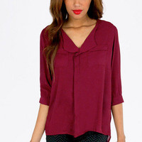 Naya Pocket Blouse $32