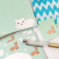 Limited edition holiday stationery letter writing snail mail parcel