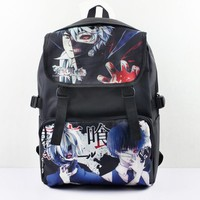 Anime Tokyo Ghoul Kaneki Ken Nylon Waterproof Laptop Backpack/Double-Shoulder Bag/School Bag