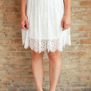 Lovely Days Skirt - white