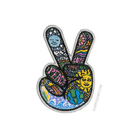 Day-Night Peace Fingers Patch on Sale for $5.99 at HippieShop.com