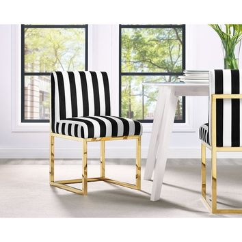 Haute Paris Multicolor Velvet Chair | Overstock.com Shopping - The Best Deals on Living Room Chairs