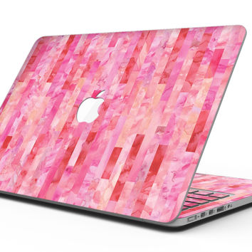 Pink Watercolor Patchwork - MacBook Pro with Retina Display Full-Coverage Skin Kit