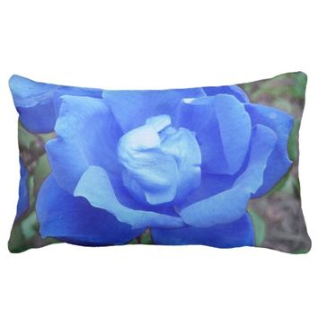 Blue Rose Digital Manipulation Lumbar Cushions