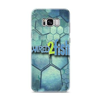 Wired 2 Fish logo Samsung Galaxy S8 | Galaxy S8 Plus case