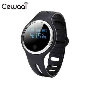 Waterproof Smart Watch Support Call and SMS alert Pedometer Sports Activities Tracker