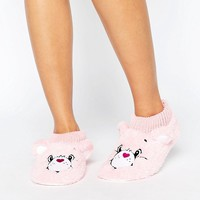 Undiz Asteriz Care Bear Slippers at asos.com