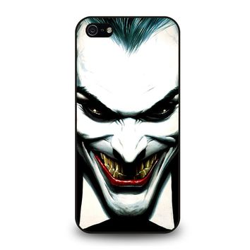 JOKER VILLAIN FACE iPhone 5 / 5S / SE Case