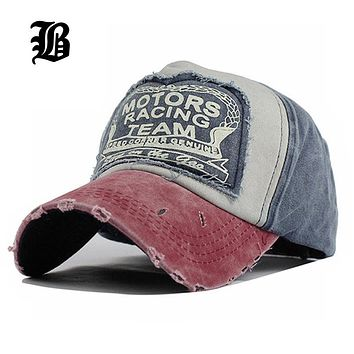 Vintage Cotton Snapback Fitted Cap