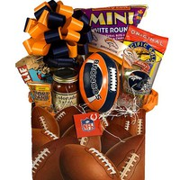 Denver Bronco Gift Baskets | Denver Bronco Football Gift Baskets