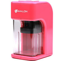 Avalon Electronic Pencil Sharpener with Built in Safety Feature, Pink