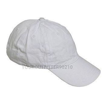 LMFON Generic Plain Solid Washed Polo Style Hat Soft Foldable 100 Cotton Ball Cap Golf Visor