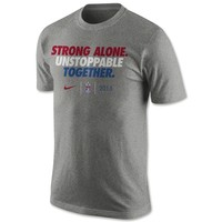 USWNT Unstoppable Together Slogan Men's T-Shirt - WorldSoccerShop.com