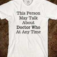 Talk About Doctor Who