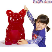 Red 26-Pound Party Gummy Bear | CandyWarehouse.com Online Candy Store