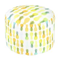 Pineapple Glow Pouf
