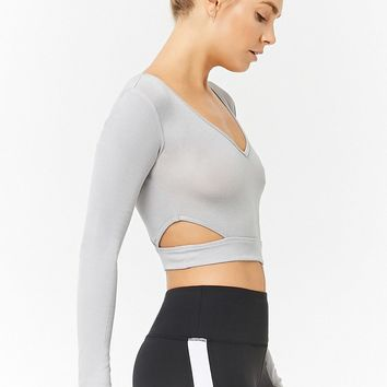 Active Cutout Crop Top
