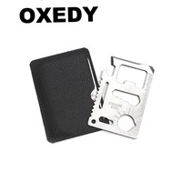 11-in -1 Multi-Purpose Credit Card Tool & Bottle Opener
