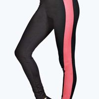 Natalia Side Panel Sports Leggings