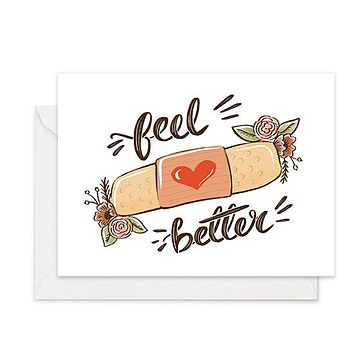 BandAid - Sympathy Card