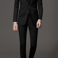 Slim Fit Virgin Wool Suit