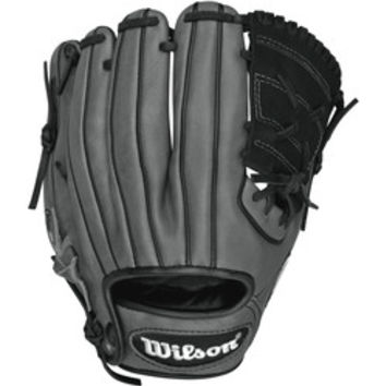 Wilson 6-4-3 X2 Leather 11 Pedroia Fit Infield Baseball Glove,  Black & Coal