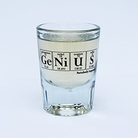 Periodic Table of Elements Shot Glass (Genius)