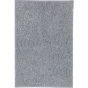 "Better Homes and Gardens Ombre Shine Bath Rug, 2'6"" x 1'8"", Gray"