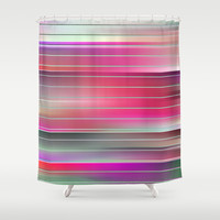 springtime square 4 Shower Curtain by Steffi ~ findsFUNDSTUECKE