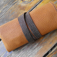 Leather Watch Roll, watchband holder, leather watch bands roll, travel watch case