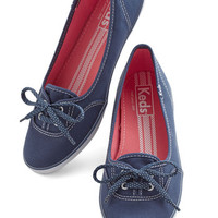 ModCloth Nautical Coast of All Flat in Navy