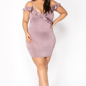 Party In The Hamptons Dress - Lavender