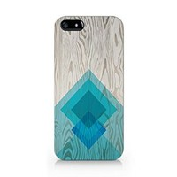 Woodprint Aztec Slim Iphone 5 Case, Iphone 5S Case Plastic Case Cover Iphone 5/5S-Emerishop (MAD120)