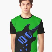 'ELECTRIC GUITAR' Graphic T-Shirt by IMPACTEES