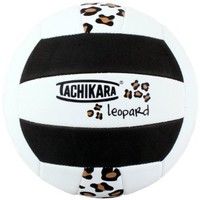 Tachikara Sof-Tec Indoor/Outdoor Volleyball (Leopard Black/White)