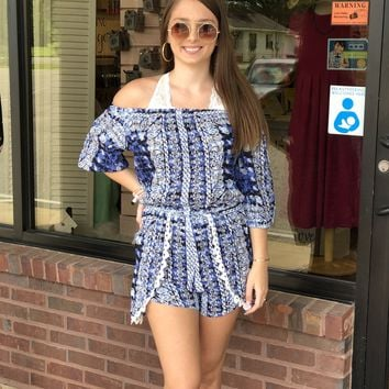 See Me Now Multi Print Romper