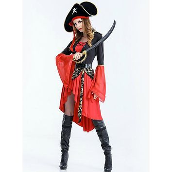 Pirate Costume Halloween Adult Cosplay