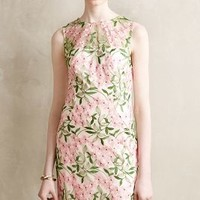 Garden Party Dress by Eva Franco Green Motif