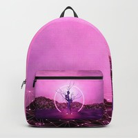 2077 landscape Backpack by vivianagonzlez