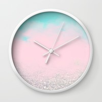 All That Shimmers.. Society6 #decor #buyart Wall Clock by 83 Oranges™