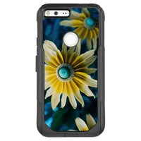 Yellow, Blue and White Floral Photography OtterBox Commuter Google Pixel XL Case