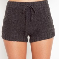 Cabin Fever Knit Shorts